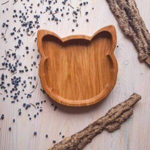 Тарелка детская «Кошка»