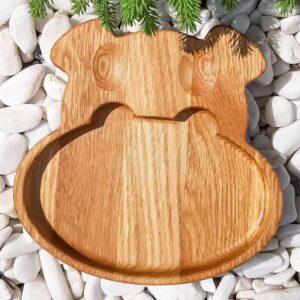 Тарелка детская » бегемотик «