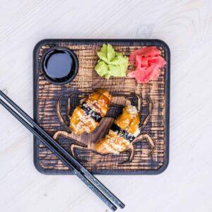 Доска для подачи суши/роллов «краб»
