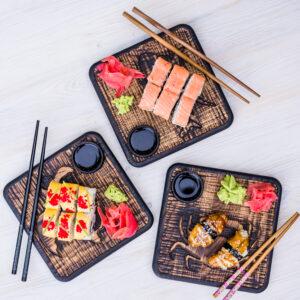 Доска для подачи суши/роллов «осьминог».