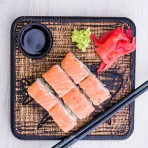 Доска для подачи суши/роллов «акула».