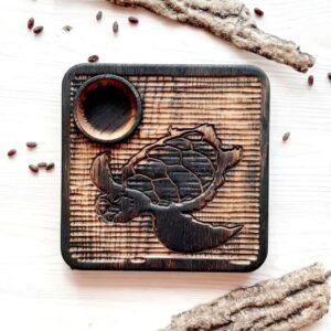 Доска для подачи суши/роллов «черепаха»